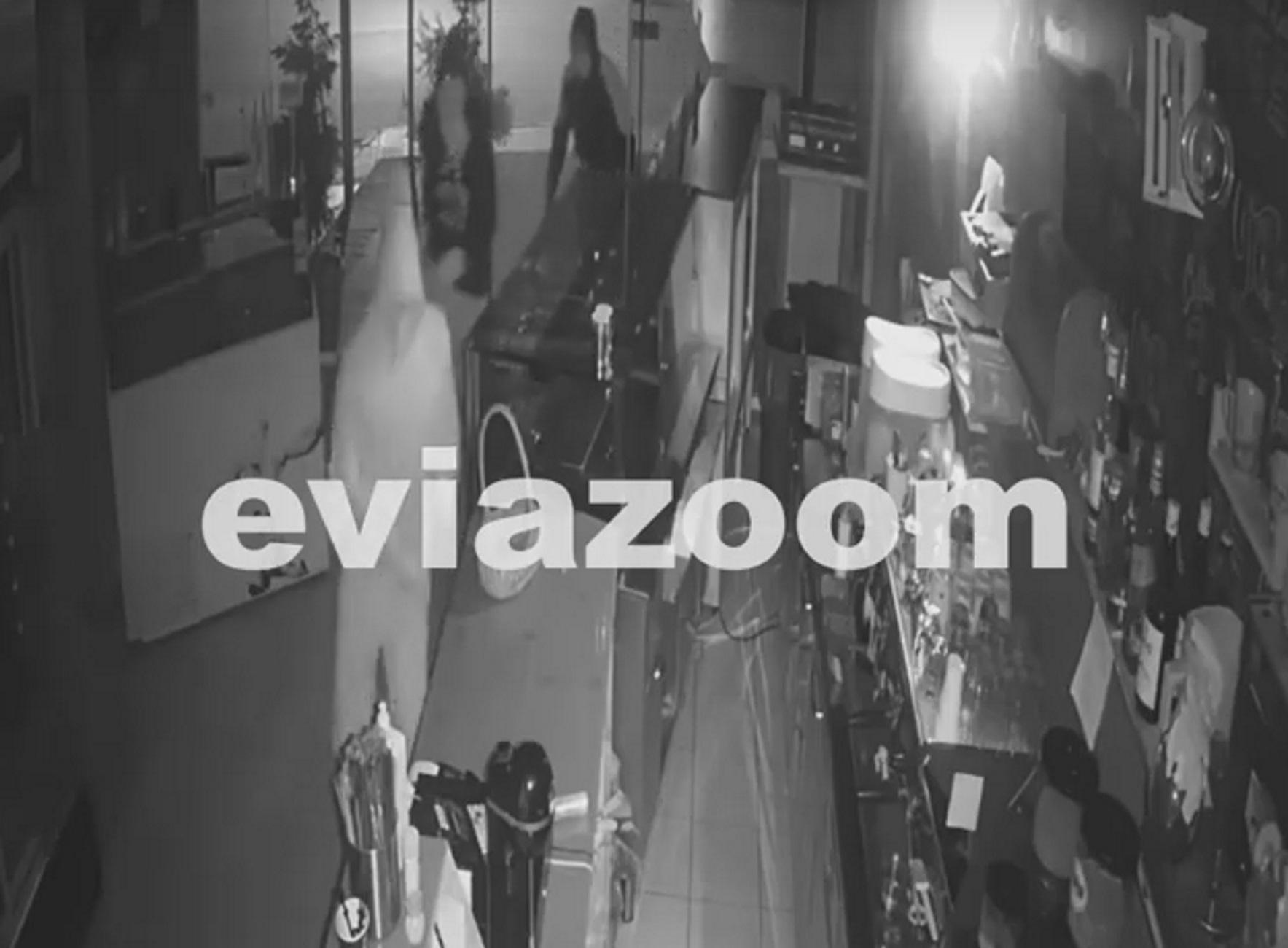 Χαλκίδα: Βίντεο ντοκουμέντο από τη διάρρηξη καφετέριας! Το χτύπημα των 12 δευτερολέπτων (Βίντεο)