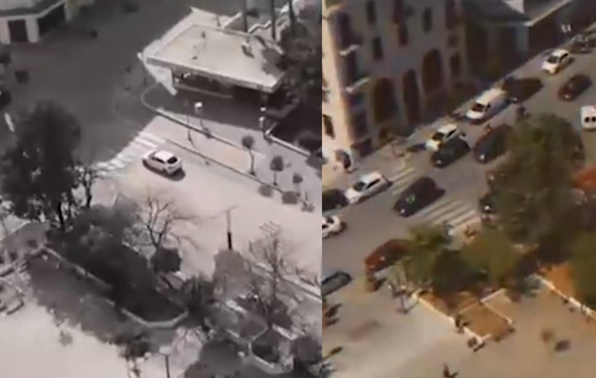 Εκπληκτικά πλάνα από drone δείχνουν την Καβάλα πριν και μετά το lockdown!