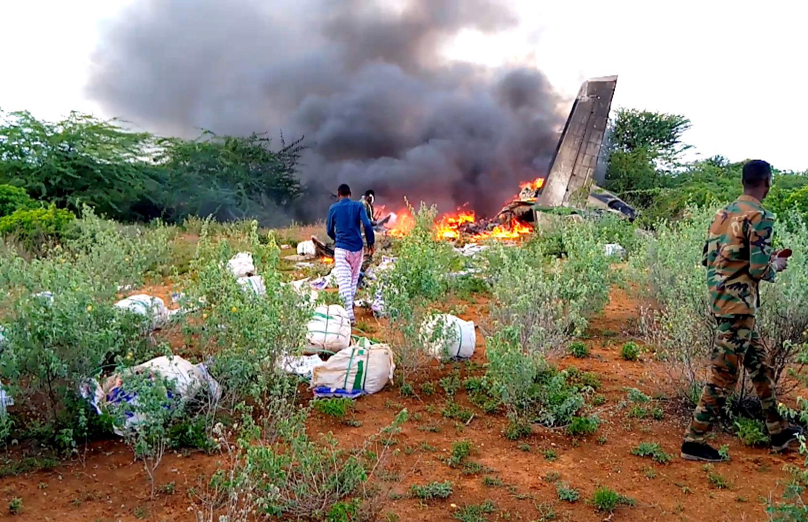 Κένυα: Έξι νεκροί ο τραγικός απολογισμός της συντριβής του αεροσκάφους στη Σομαλία