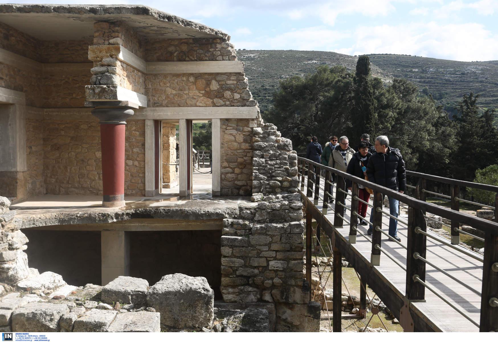Κνωσός: Καραντίνα τέλος! Ανοίγει ξανά ο αρχαιολογικός χώρος
