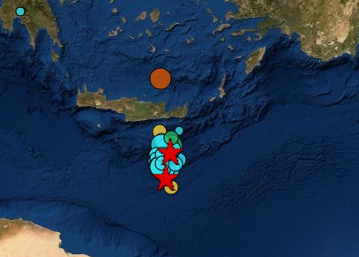 Σεισμός στην Κρήτη: Κύμα 30 εκατοστών και πάνω από 30 μετασεισμοί μετά τα 6 Ρίχτερ (Βίντεο)