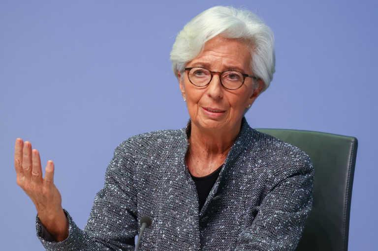 Λαγκάρντ: Η ΕΚΤ θα παρεμβαίνει στις αγορές ομολόγων ως τον Μάρτιο του 2022