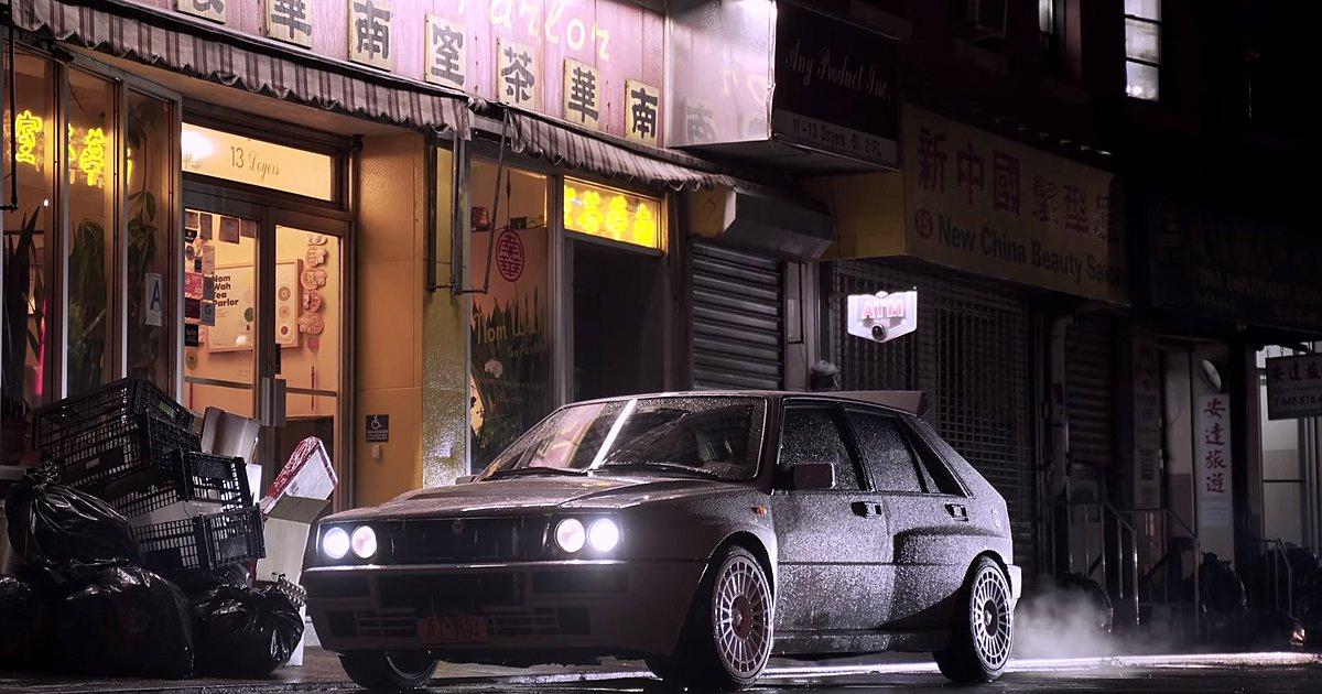 Μια Lancia Delta Integrale αναστατώνει τη Νέα Υόρκη [vid]
