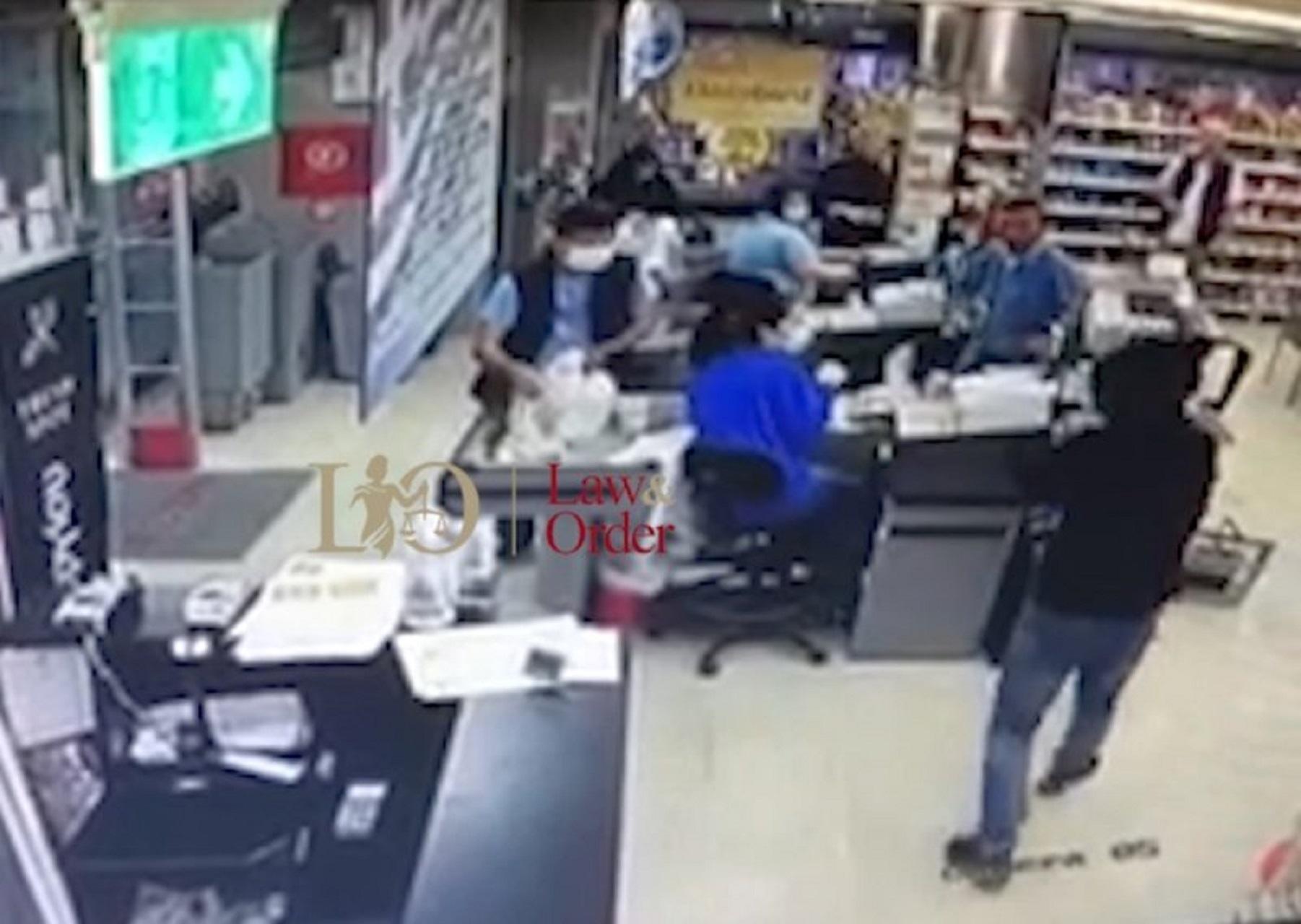 Βίντεο ντοκουμέντο από την ένοπλη ληστεία σε σούπερ μάρκετ στη Νέα Φιλαδέλφεια