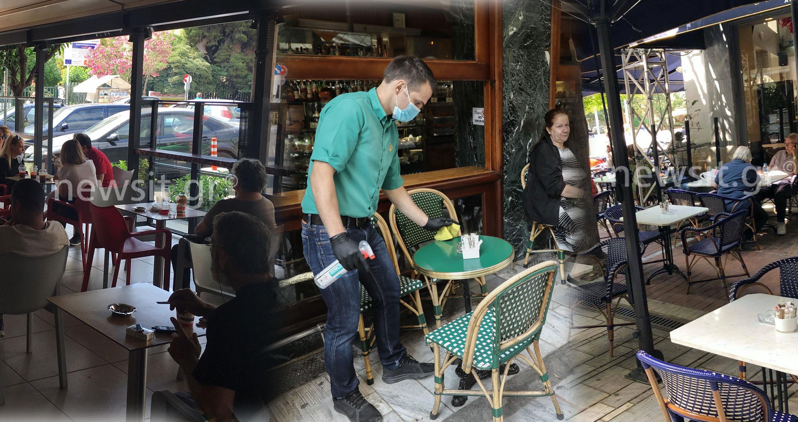 Μύρισε καφές και κανονικότητα: Γέμισαν οι καφετέριες από το Κολωνάκι μέχρι την Ερμού και τον Πειραιά