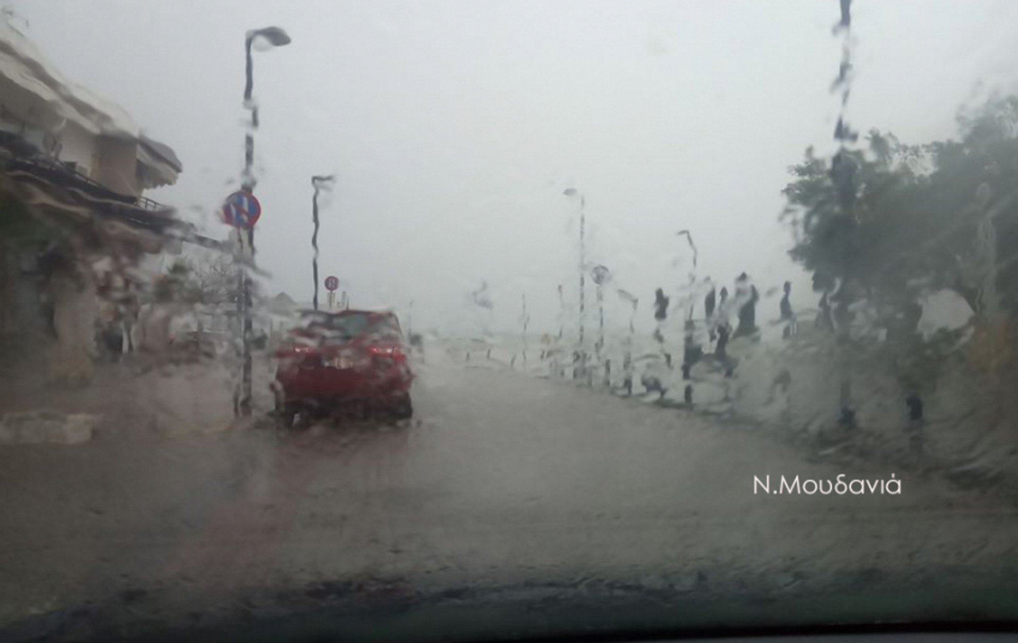 """Κατακλυσμός στη Χαλκιδική: """"Βούλιαξαν"""" Κασσάνδρα και Νέα Μουδανιά (pics) – Ειδήσεις"""