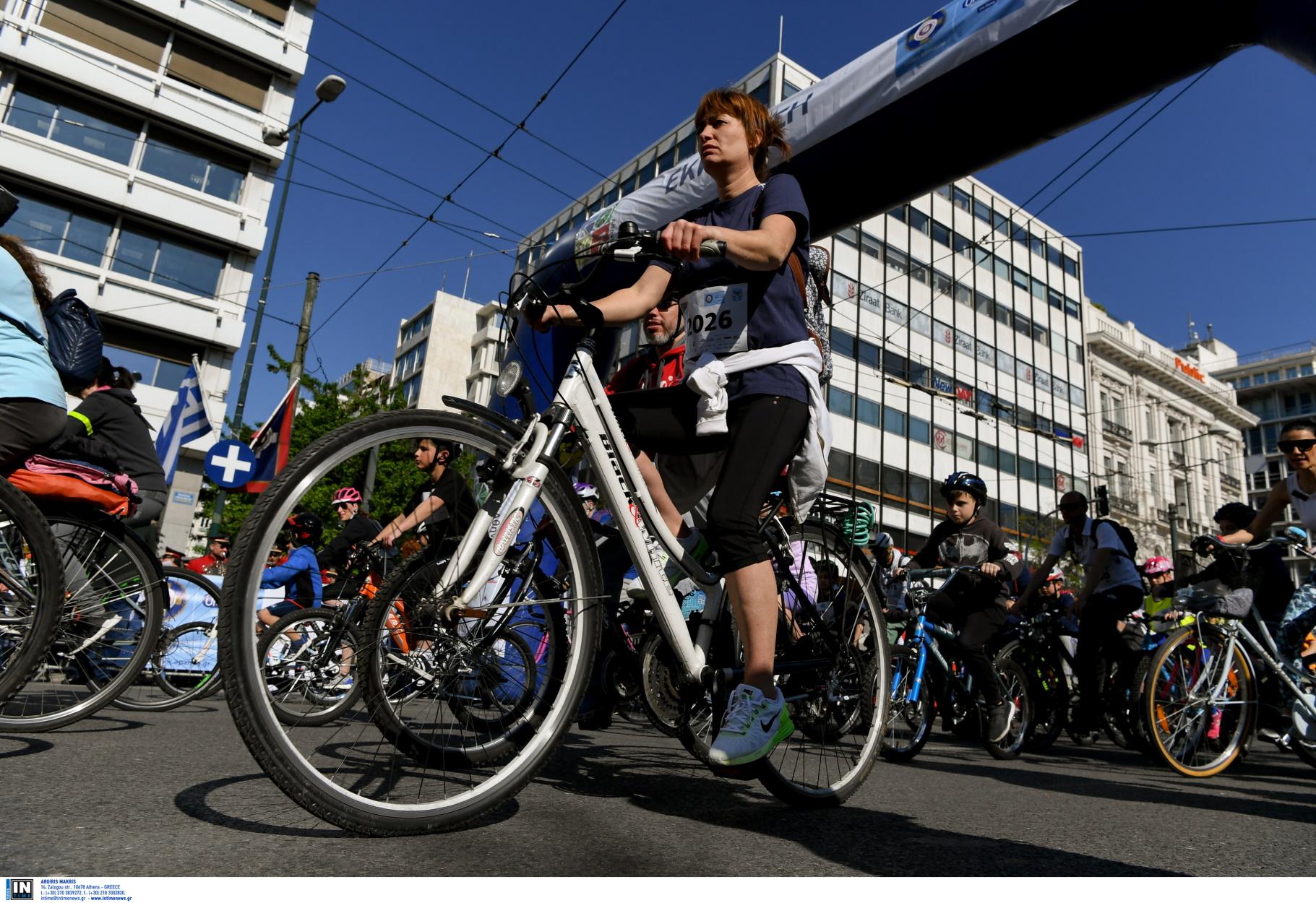 Ο κορονοϊός έβγαλε τα ποδήλατα στους δρόμους