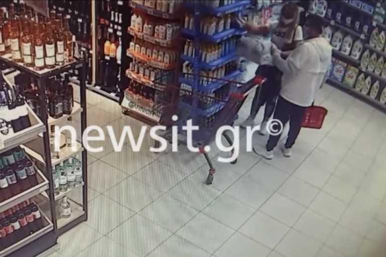Η σπείρα… που ρήμαζε τα σούπερ μάρκετ εν μέσω κορονοϊού – Αποκλειστικό βίντεο