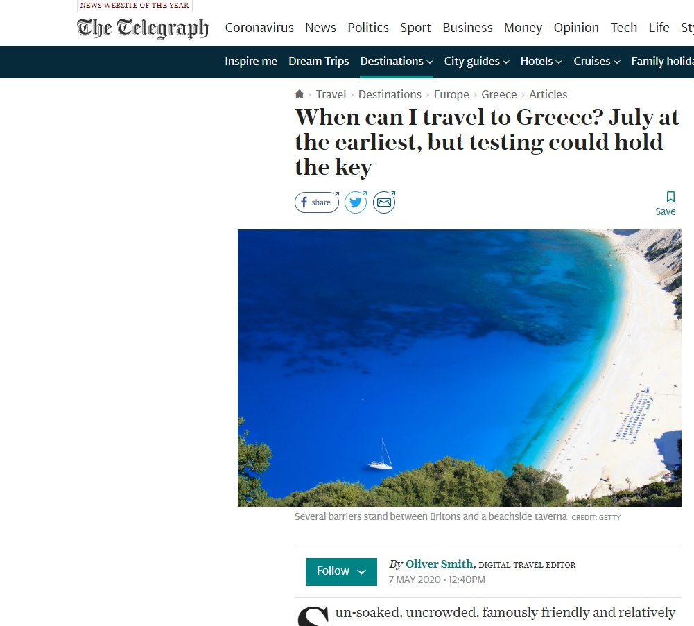 διακοπές Ελλάδα