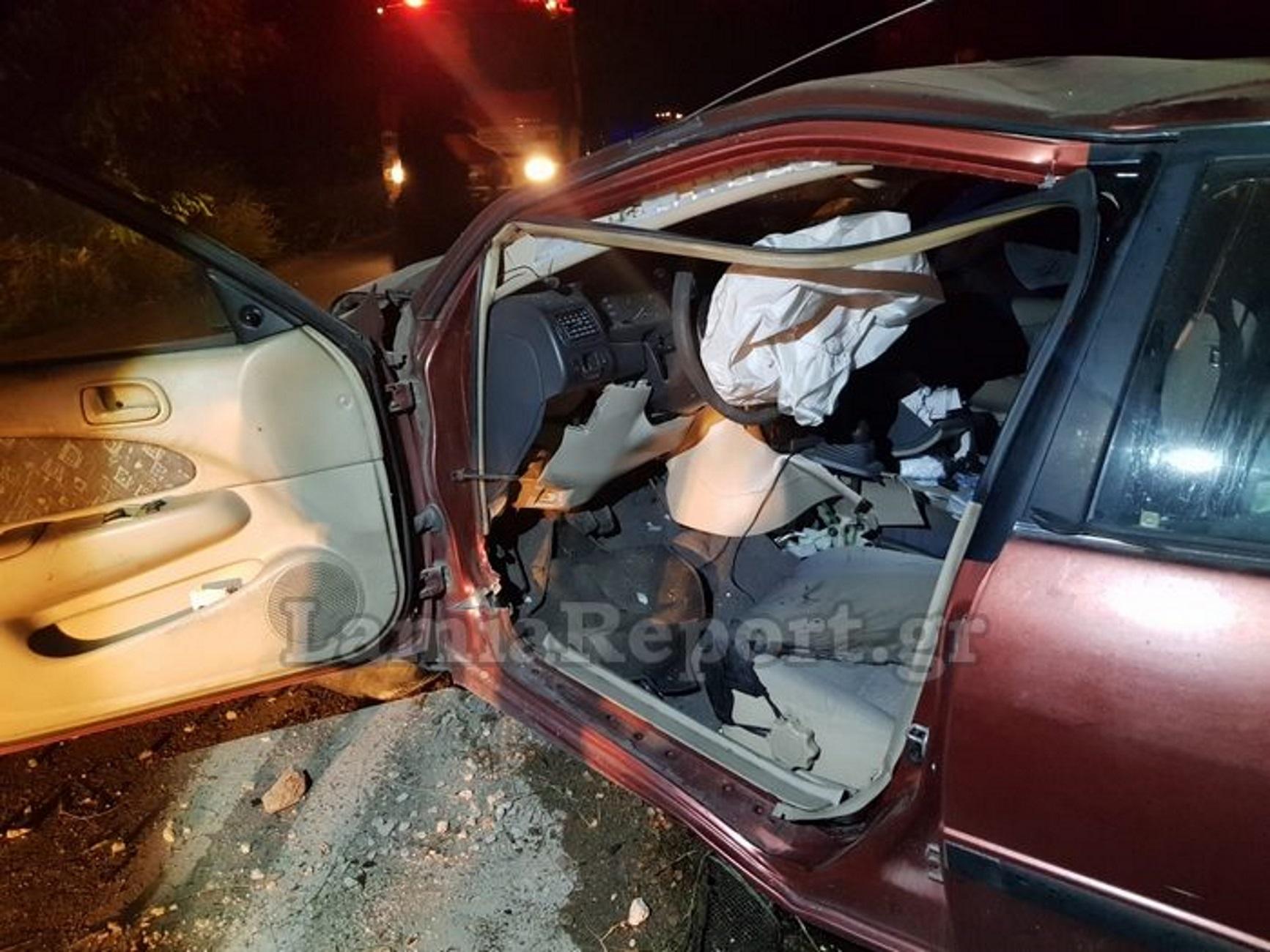 Φθιώτιδα: Αγριογούρουνο προκάλεσε διπλό τροχαίο με απίστευτες εικόνες καταστροφής! Διαλύθηκαν δύο αυτοκίνητα (Βίντεο)