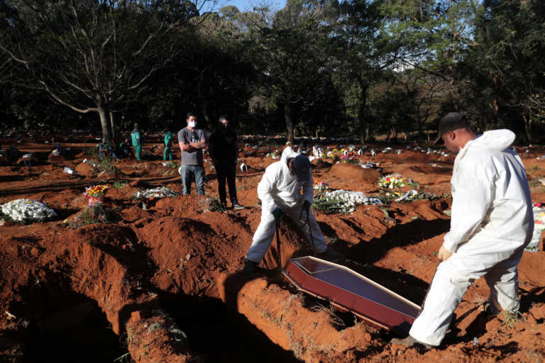 Κορονοϊός: «Φλέγονται» Βραζιλία και Μεξικό – Πάνω από 1.200 θάνατοι το τελευταίο 24ωρο