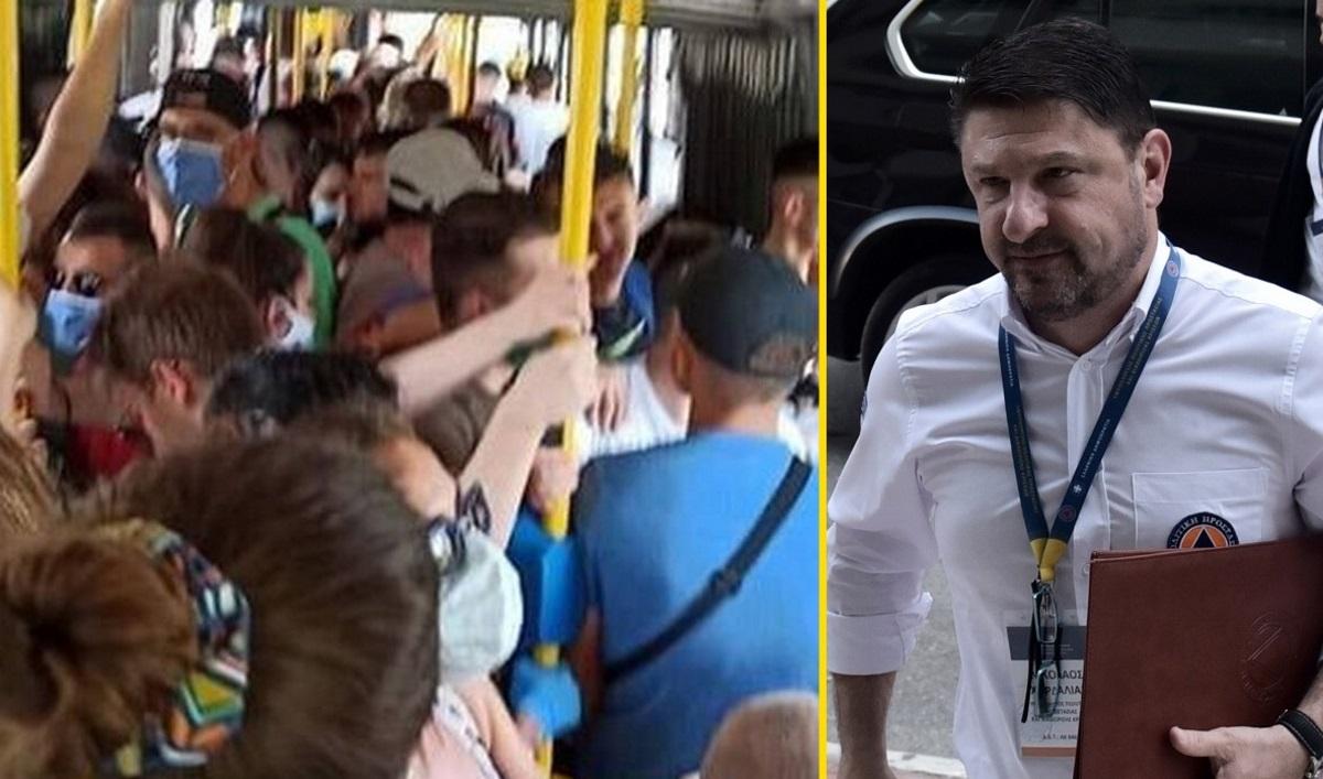 Χαρδαλιάς: Δε μπορεί σε κάθε λεωφορείο να υπάρχει ένας αστυνομικός