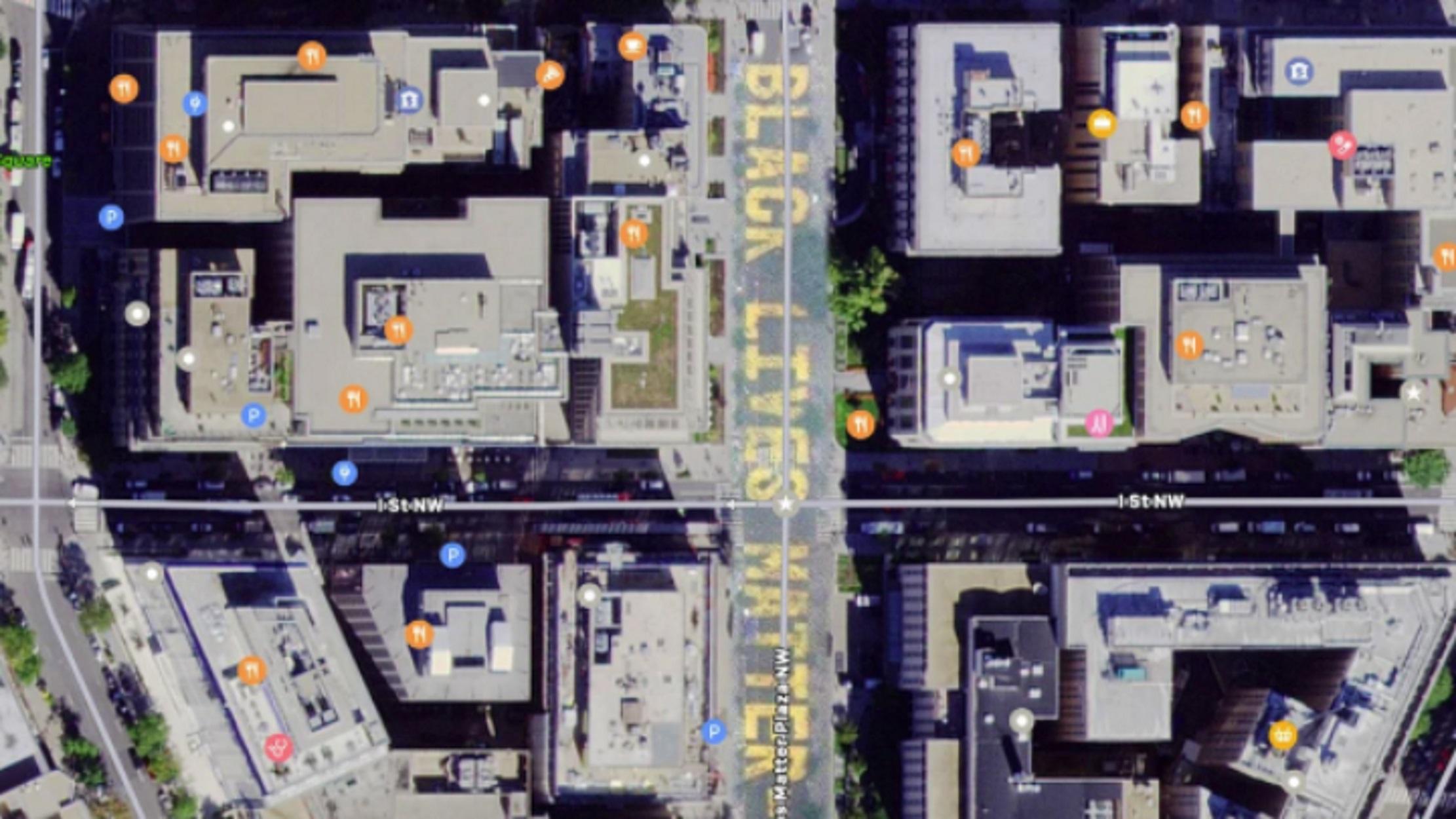 Τζορτζ Φλόιντ: Το διαδίκτυο προσαρμόζει τους χάρτες στηρίζοντας το Black Lives Matter