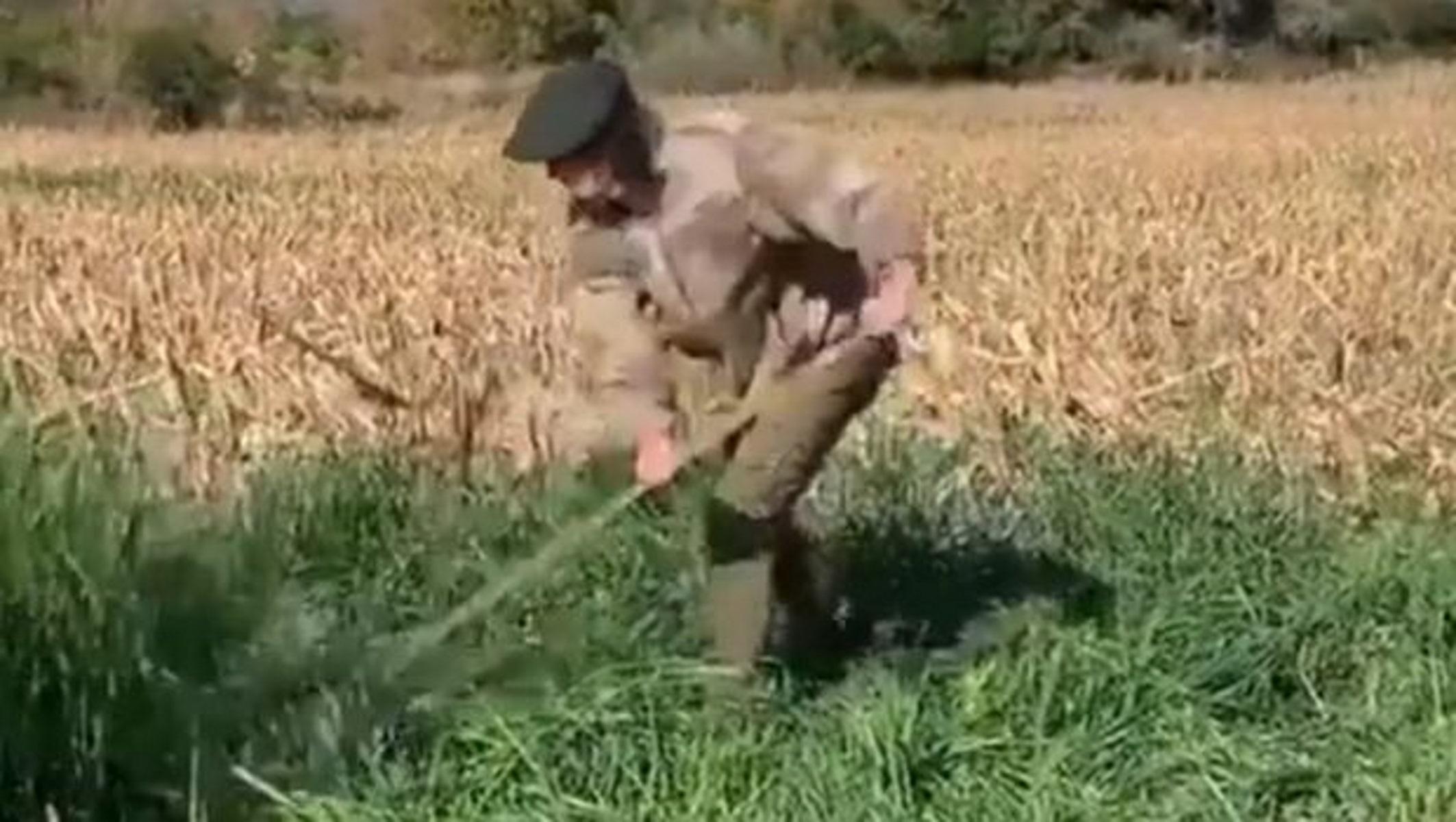 Ο Καβάνι την… άκουσε χωρίς ποδόσφαιρο και έγινε αγρότης (video)