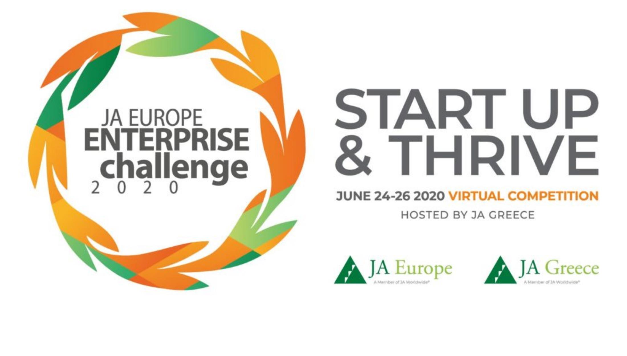 Στην Ελλάδα o Πανευρωπαϊκός Διαγωνισμός «JA Europe Enterprise Challenge 2020»