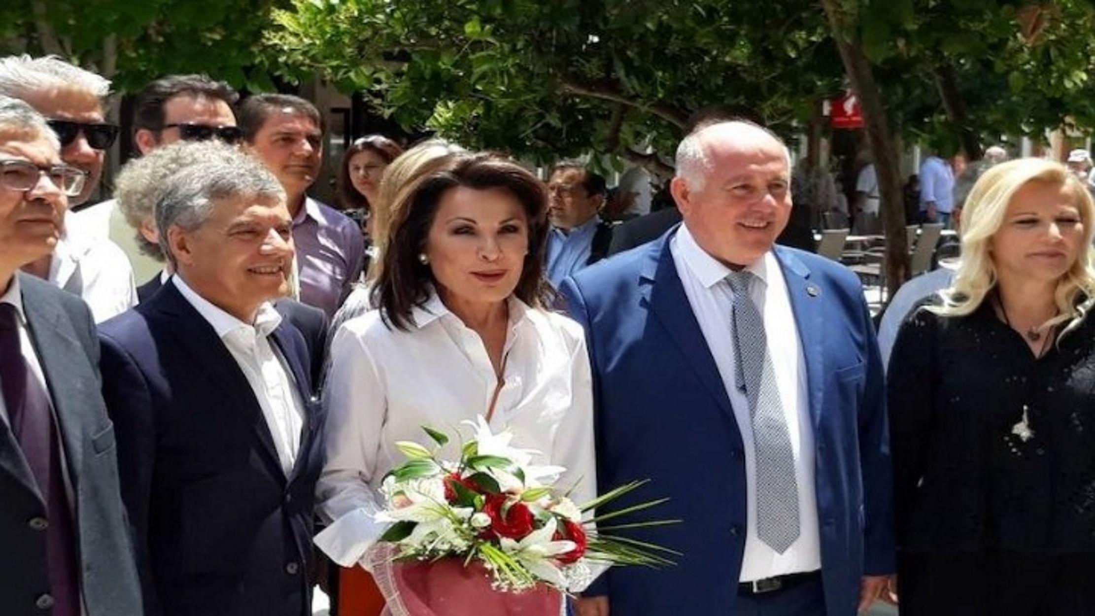 Γιάννα Αγγελοπούλου: Στη γενέτειρα του εθνομάρτυρα Ρήγα Φεραίου (pics)