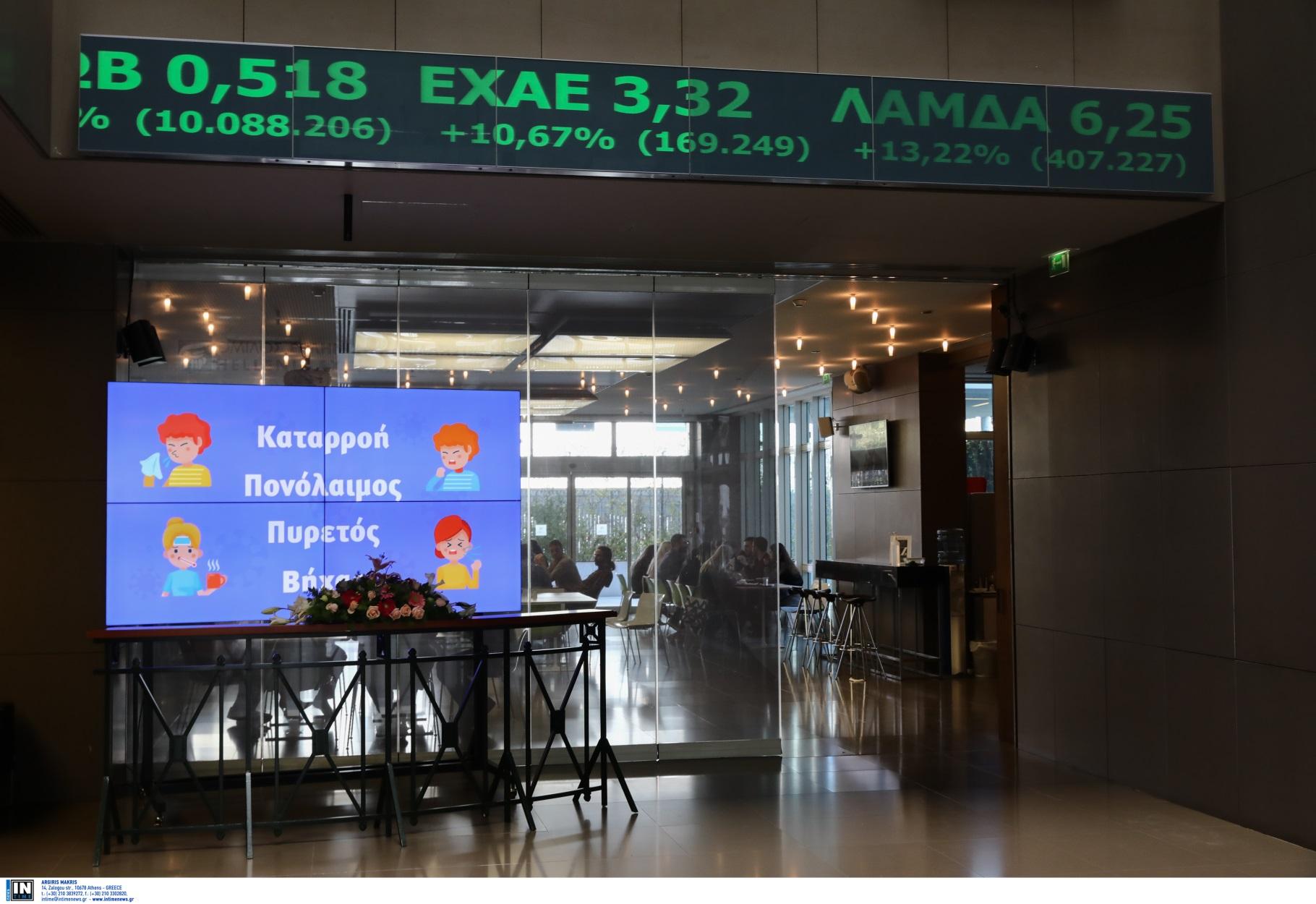 Χρηματιστήριο από τα… παλιά! Υψηλά κέρδη 4,46% – Σούπερ άνοδος 7,22% στις τράπεζες