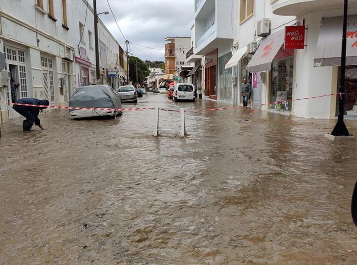 Λέρος: Επιχορήγηση 200.000 ευρώ για τις μεγάλες καταστροφές που προκάλεσε η κακοκαιρία