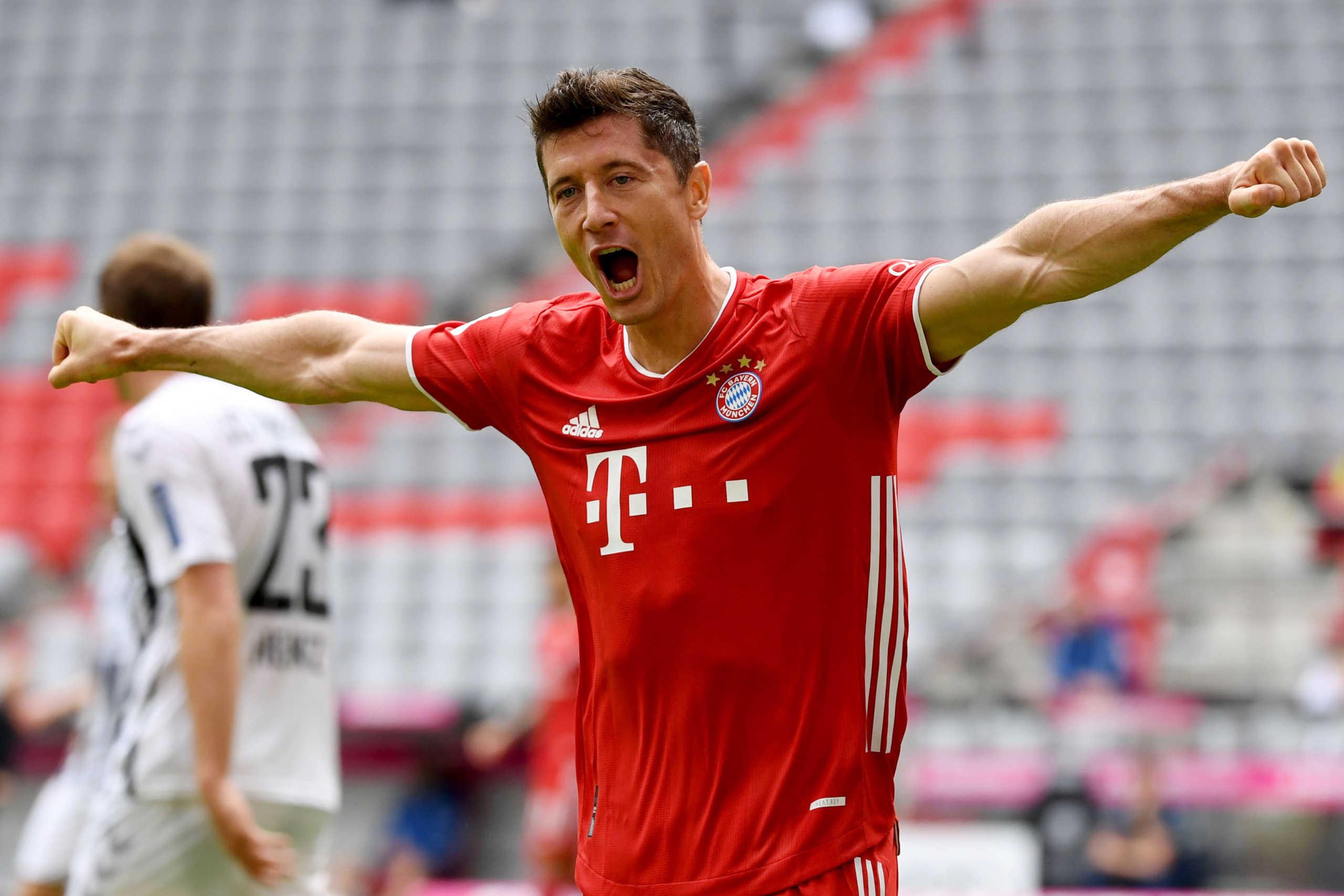 Bundesliga: Παίκτης της χρονιάς ο Λεβαντόφσκι (video)