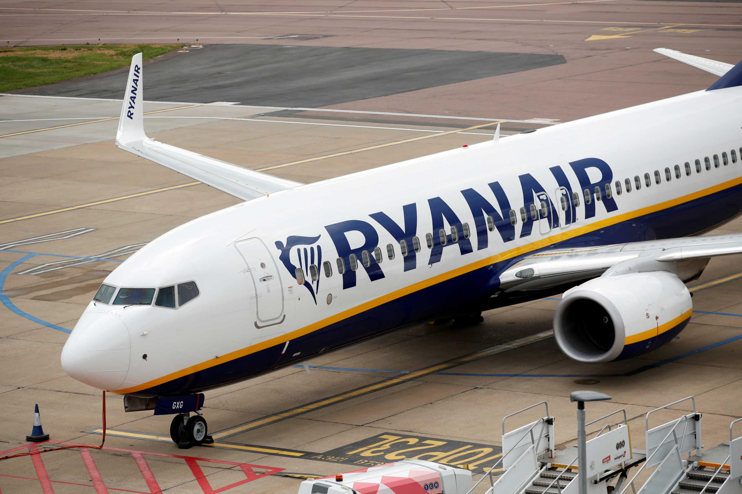 Ζημίες για πρώτη φορά εδώ και δεκαετίες ανακοίνωσε η Ryanair
