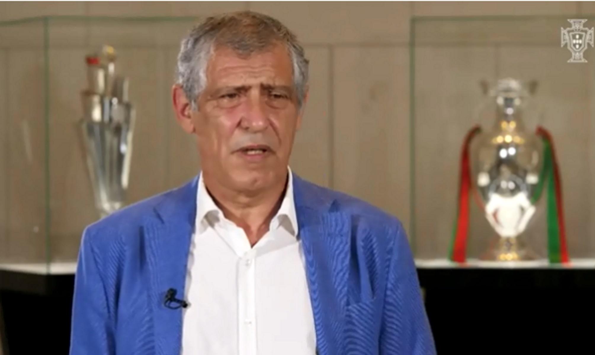 """""""Έδεσε"""" Φερνάντο Σάντος η Πορτογαλία μέχρι το 2024! (video)"""