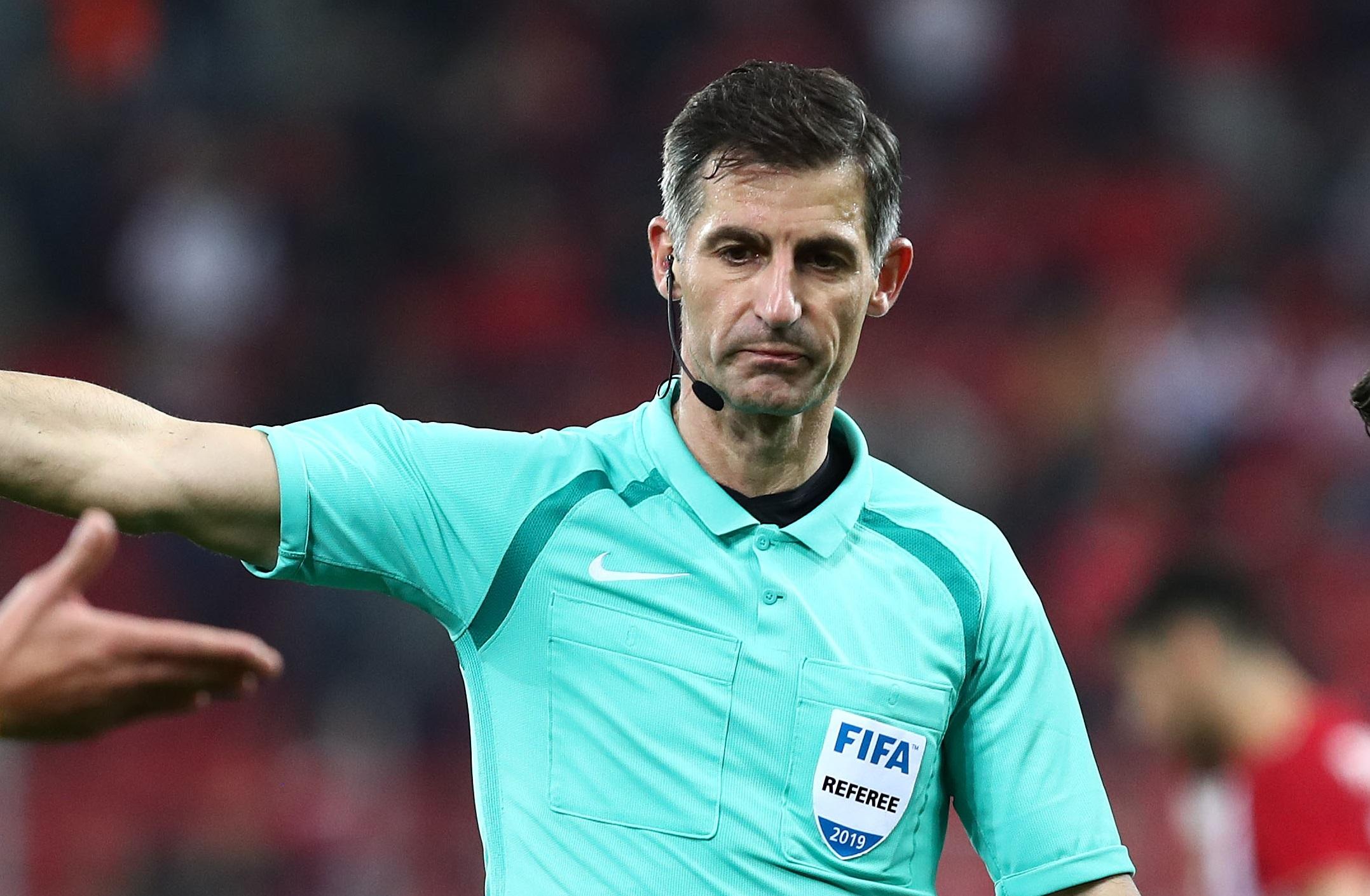 Ο Σιδηρόπουλος στον τελικό του Europa League