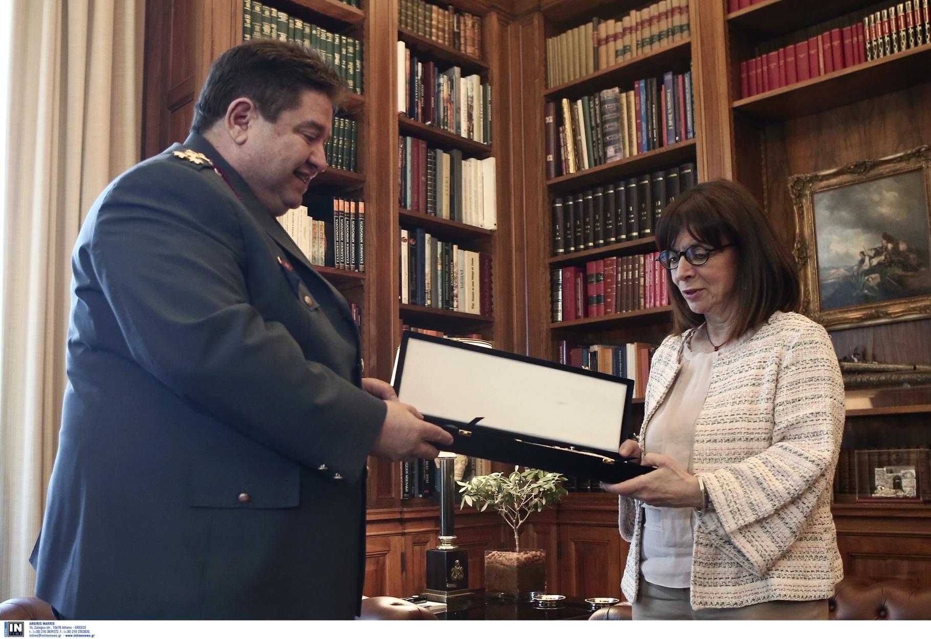 """Κατερίνα Σακελλαροπούλου: Το """"ευχαριστώ"""" της στην Αστυνομία"""