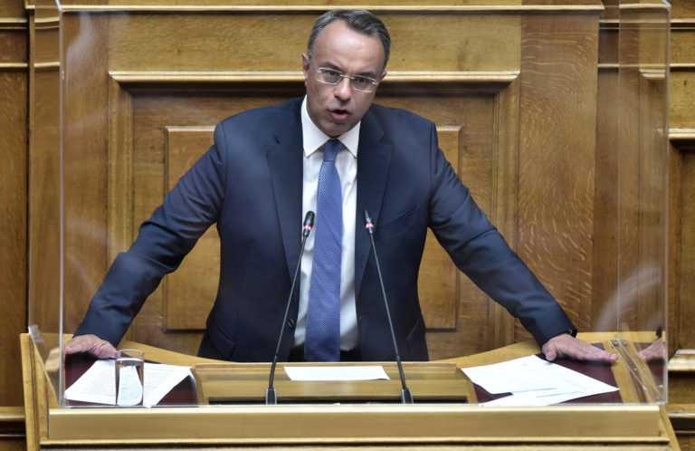 Σταϊκούρας: Οι απώλειες από την πανδημία θα καλυφθούν από το 2022