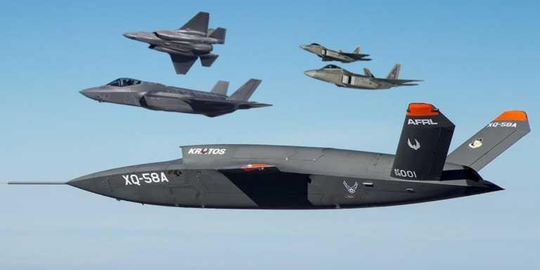 Μη επανδρωμένα αεροσκάφη εναντίον F-35! Μία