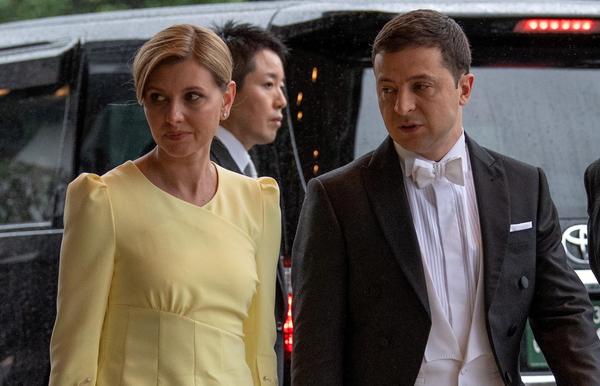 Ουκρανία: Θετική στον κορονοϊό η σύζυγος του προέδρου Ζελένσκι