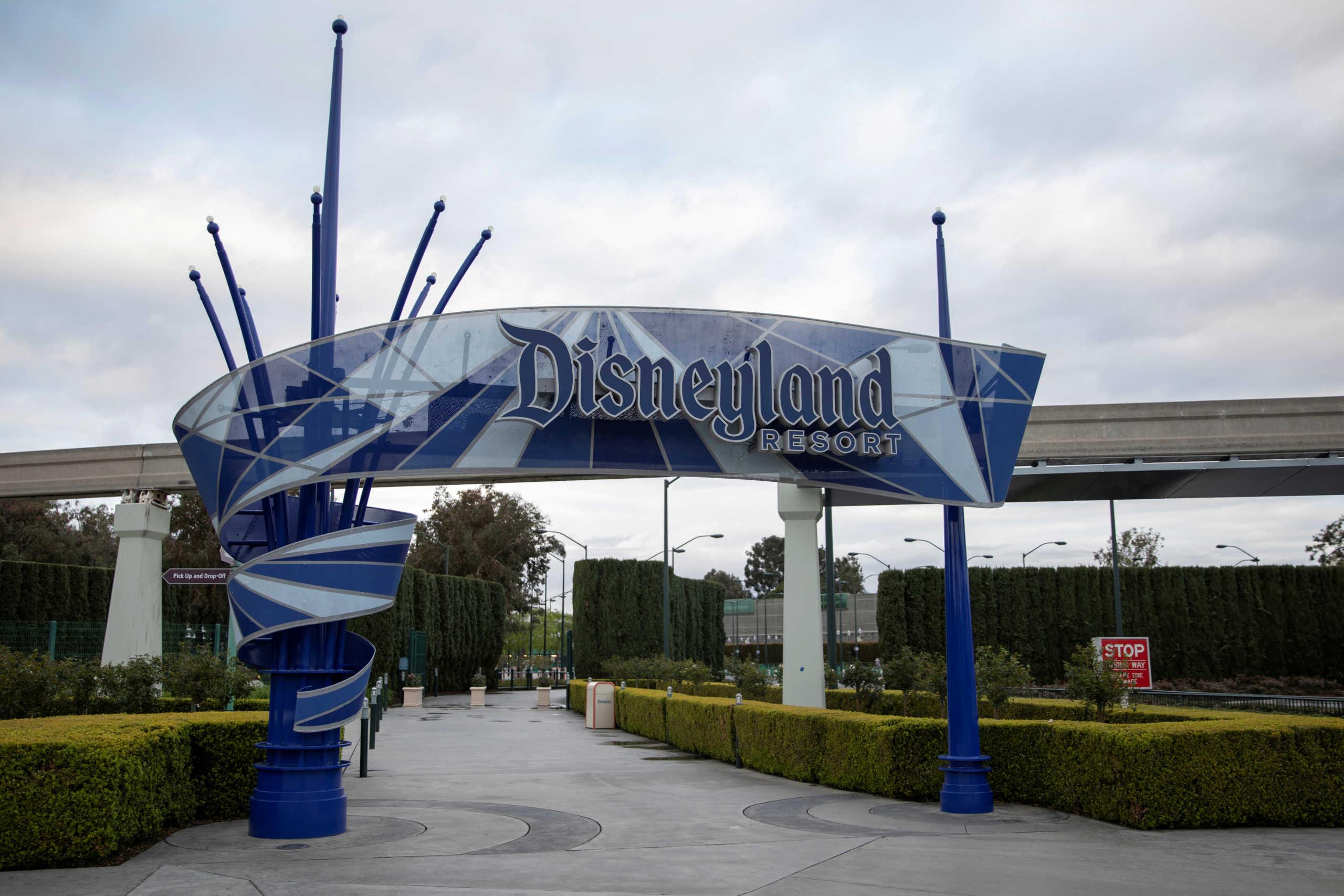 Ο κορονοϊός καθυστερεί το άνοιγμα των θεματικών πάρκων της Disney στην Καλιφόρνια