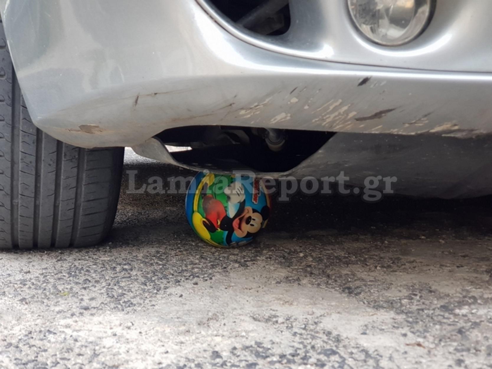 Λαμία: 85χρονη οδηγός παρέσυρε 5χρονο αγοράκι – Κάτω από τις ρόδες ο μικρός (ΦΩΤΟ)