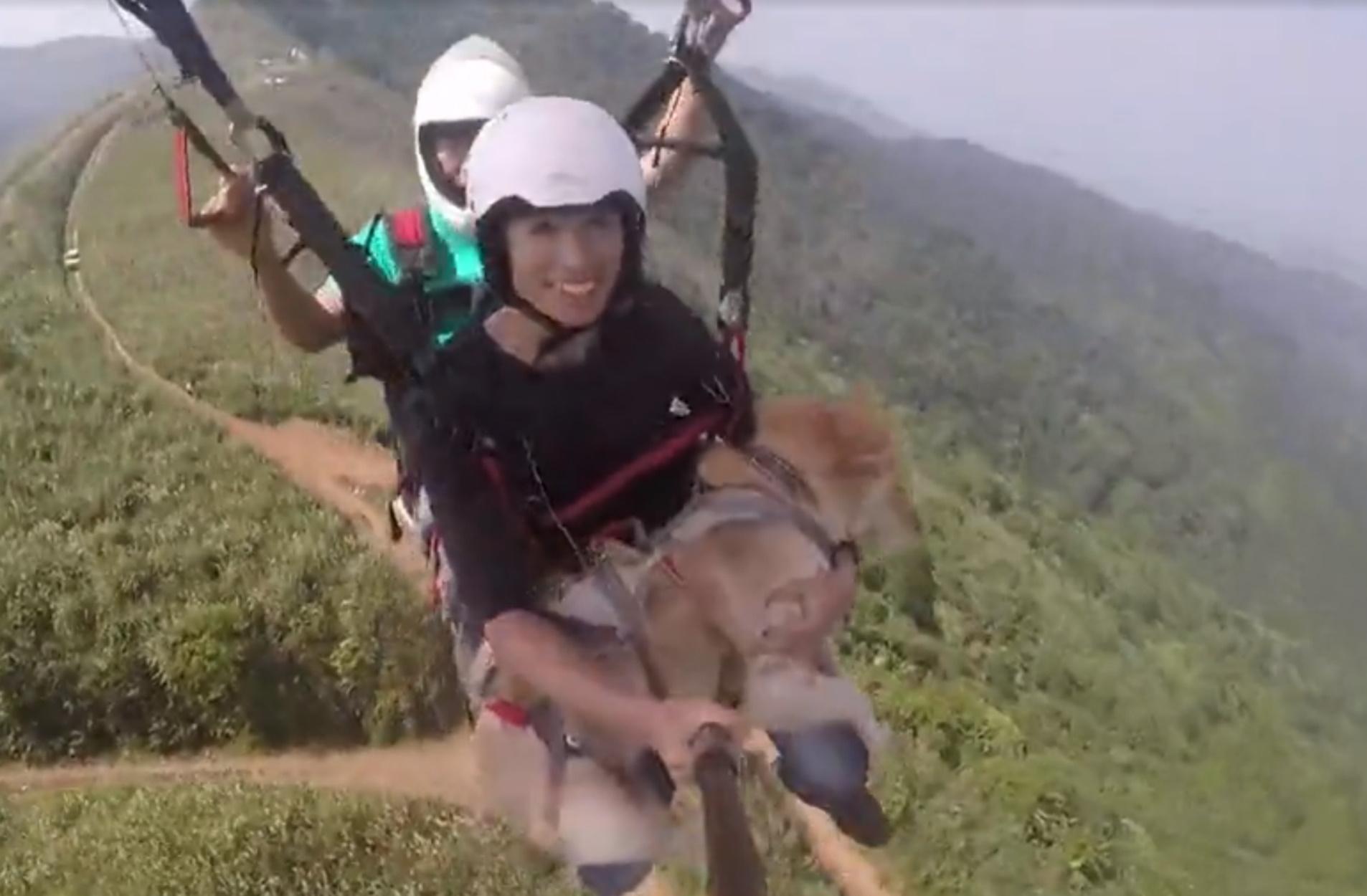 Σκυλάκι… αλεξιπτωτιστής σε νέες περιπέτειες στο Βιετνάμ!