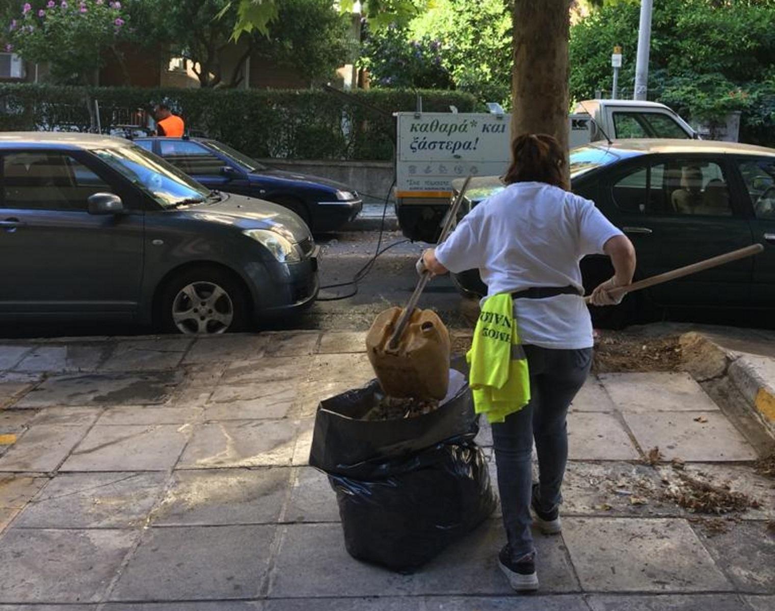 Στους Αμπελοκήπους η σημερινή Κυριακάτικη δράση καθαριότητας του Δήμου Αθηναίων (pics)