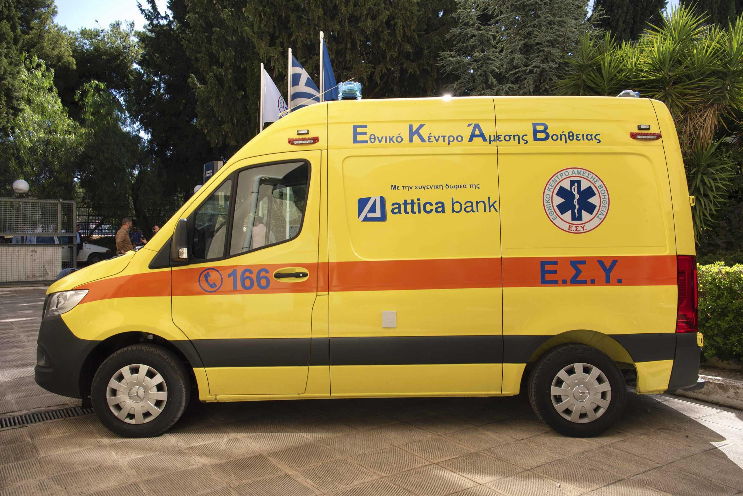 Attica Bank: Ευθύνη όλων η στήριξη του ΕΣΥ – Δωρεά στο ΕΚΑΒ ένα ασθενοφόρο