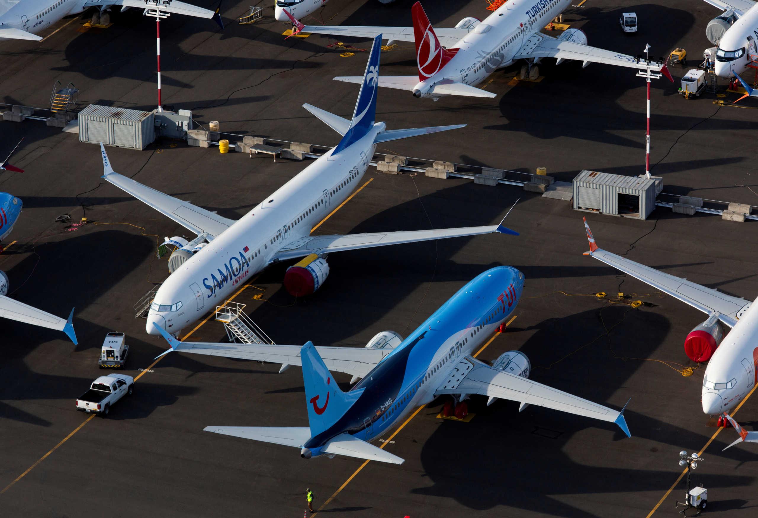ΗΠΑ: Ξεκινούν οι πτήσεις πιστοποίησης της πλοϊμότητας του Boeing 737 MAX