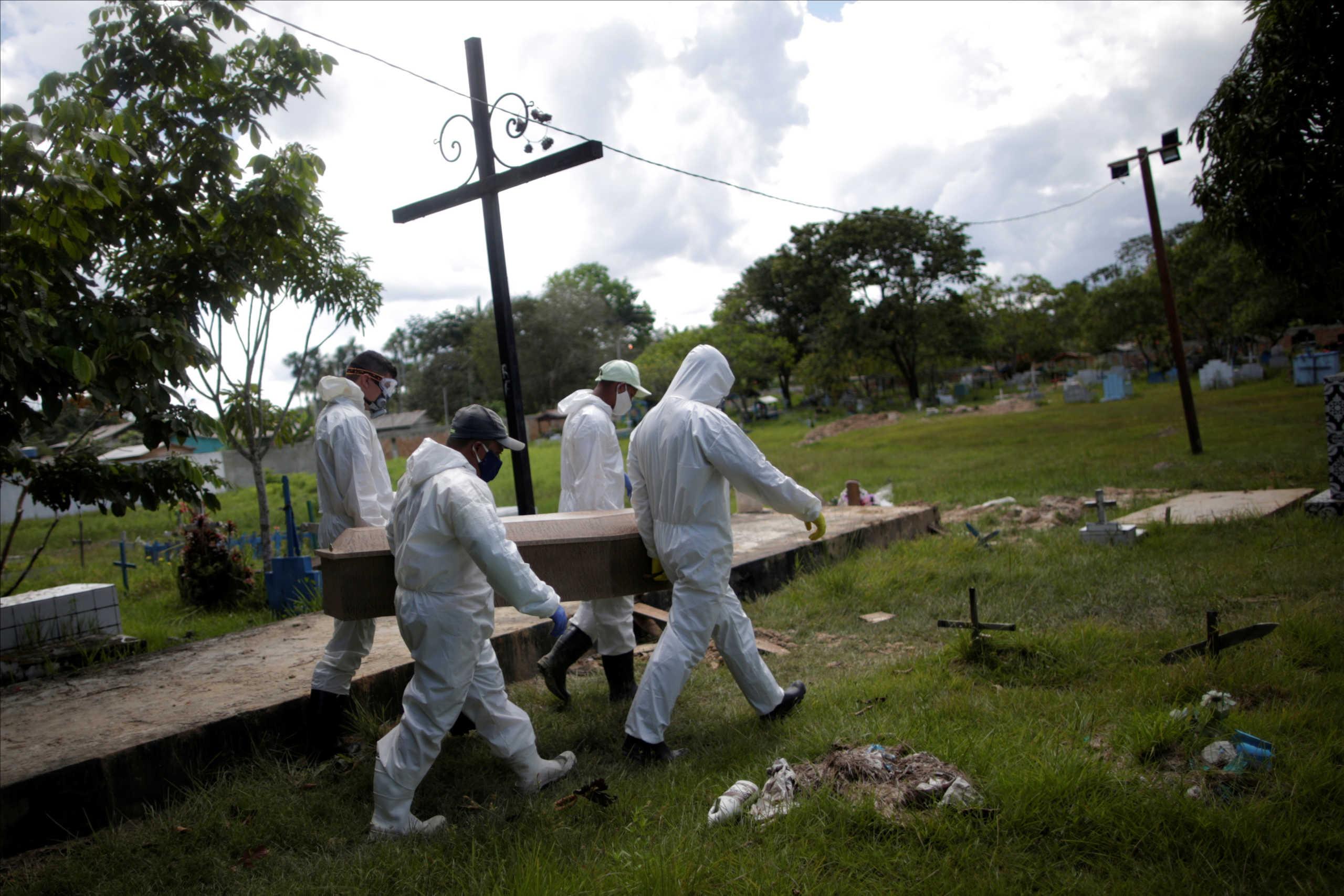 Βραζιλία: Αναμένεται αύξηση των νεκρών εξαιτίας του κορονοϊού –Δυσοίωνες προβλέψεις