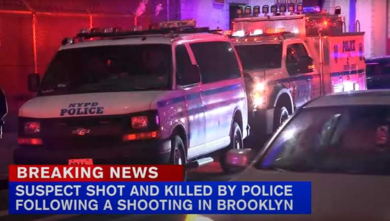 Νέα Υόρκη: Μπαράζ πυροβολισμών στο Μπρούκλιν! Ένας νεκρός από πυρά αστυνομικών (video)