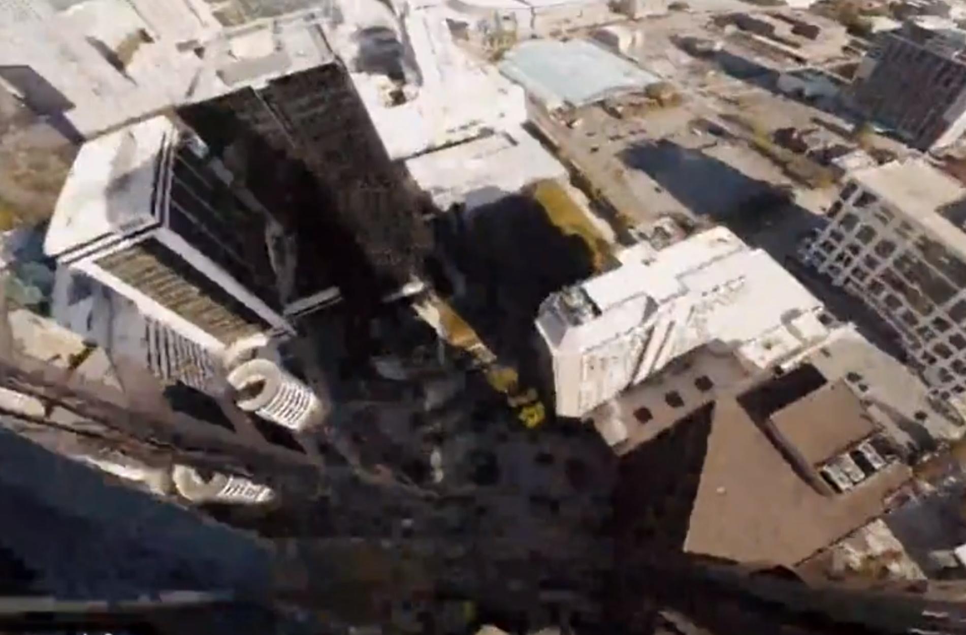 Απίστευτα πλάνα από drone που θυμίζουν 3D Game!