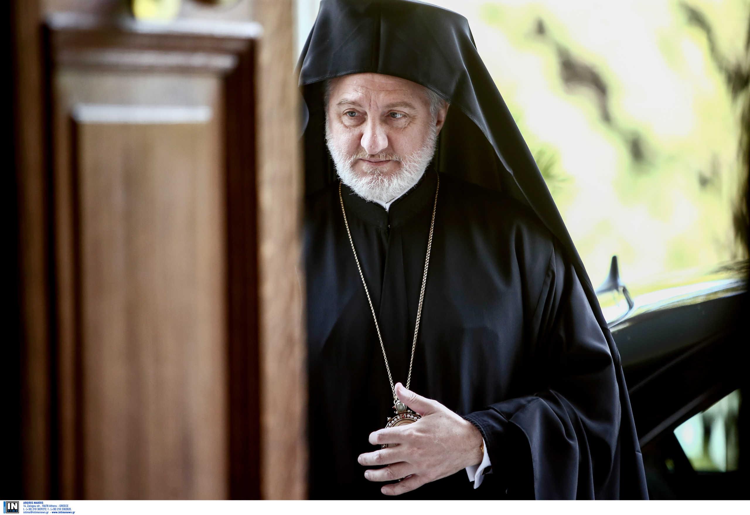 Στο πλευρό του Αρχιεπισκόπου Ελπιδοφόρου η Οικουμενική Ομοσπονδία Κωνσταντινουπολιτών