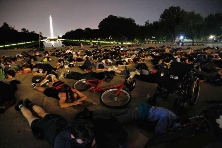 Τζορτζ Φλόιντ: Ξανά στους δρόμους χιλιάδες διαδηλωτές στις ΗΠΑ (pics)