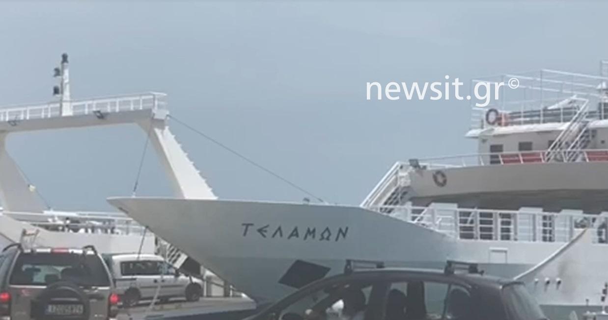 Μία «παντόφλα» συνδέει την ηπειρωτική Ελλάδα με την Λευκάδα! Απίστευτες εικόνες