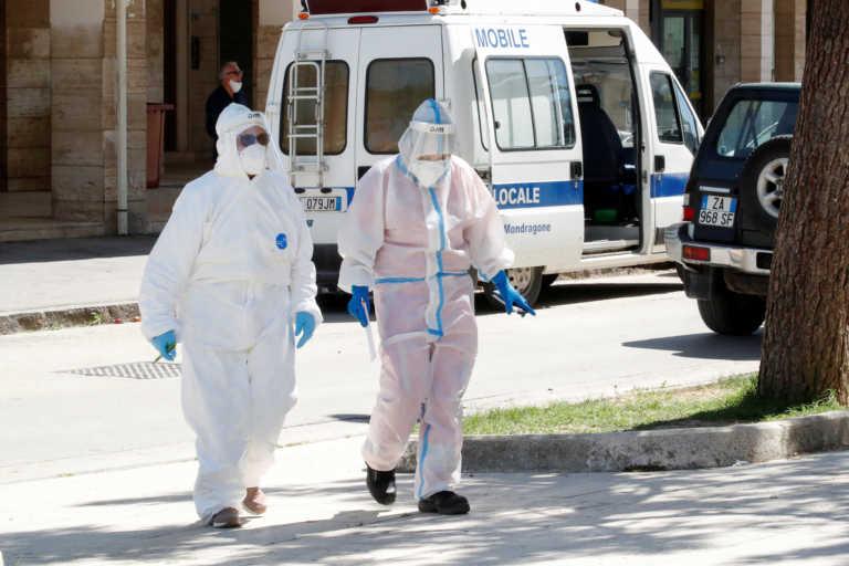 Δραματικές στιγμές στην Ιταλία – 128 νεκροί και πάνω από 20.000 τα νέα κρούσματα κορονοϊού