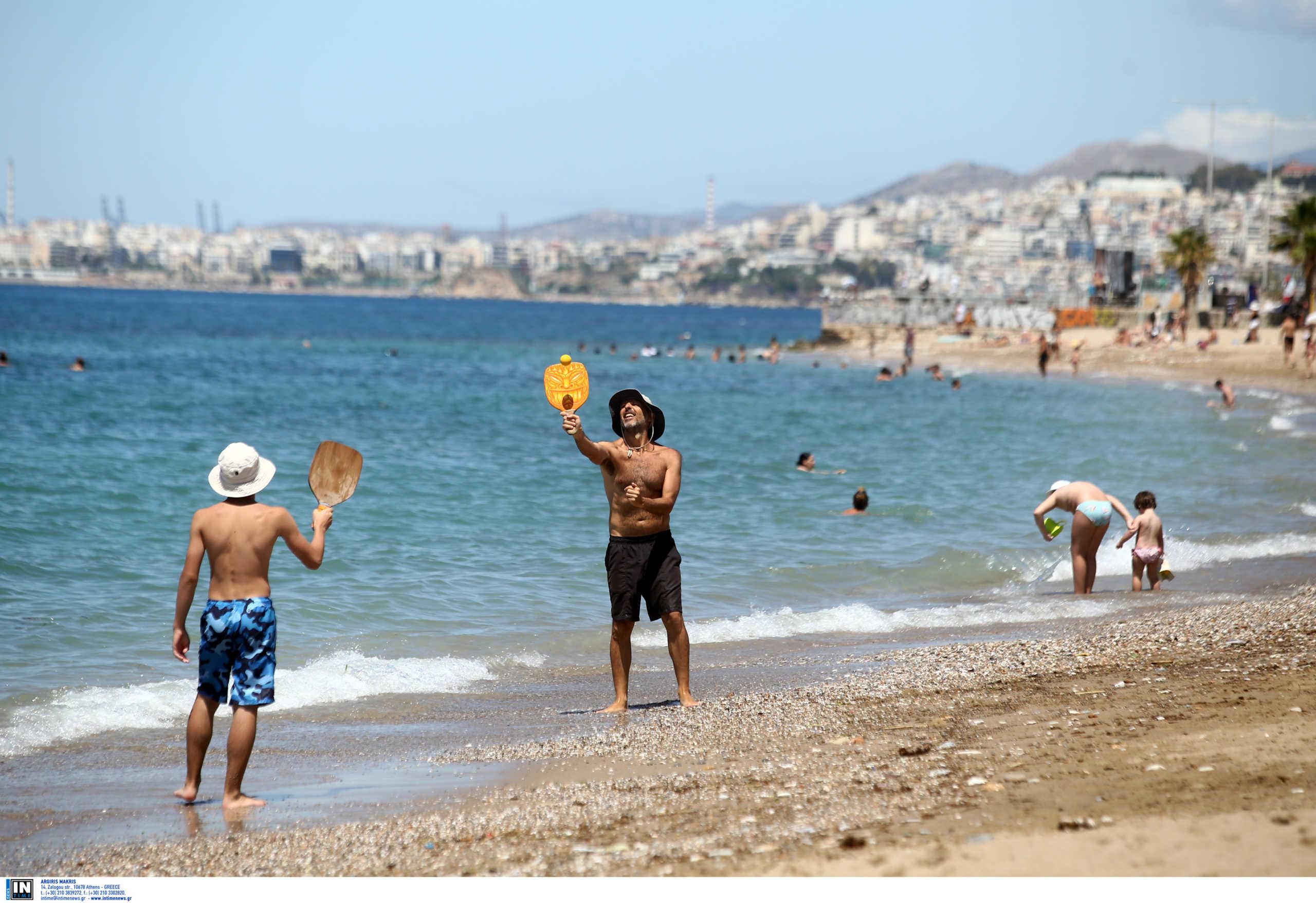Καιρός meteo: Καμίνι όλη η χώρα – Απογείωση του υδραργύρου στην Κρήτη