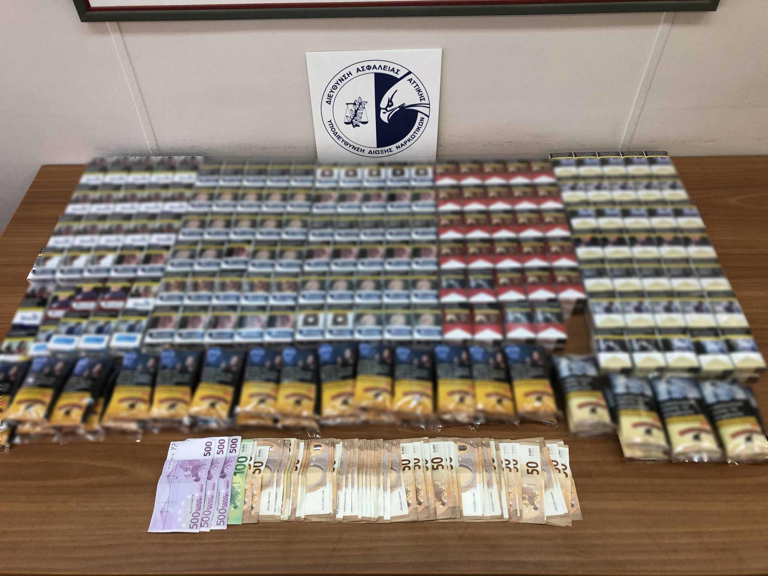 5 συλλήψεις και 55 προσαγωγές σε αστυνομική επιχείρηση σε κτίριο στο κέντρο της Αθήνας