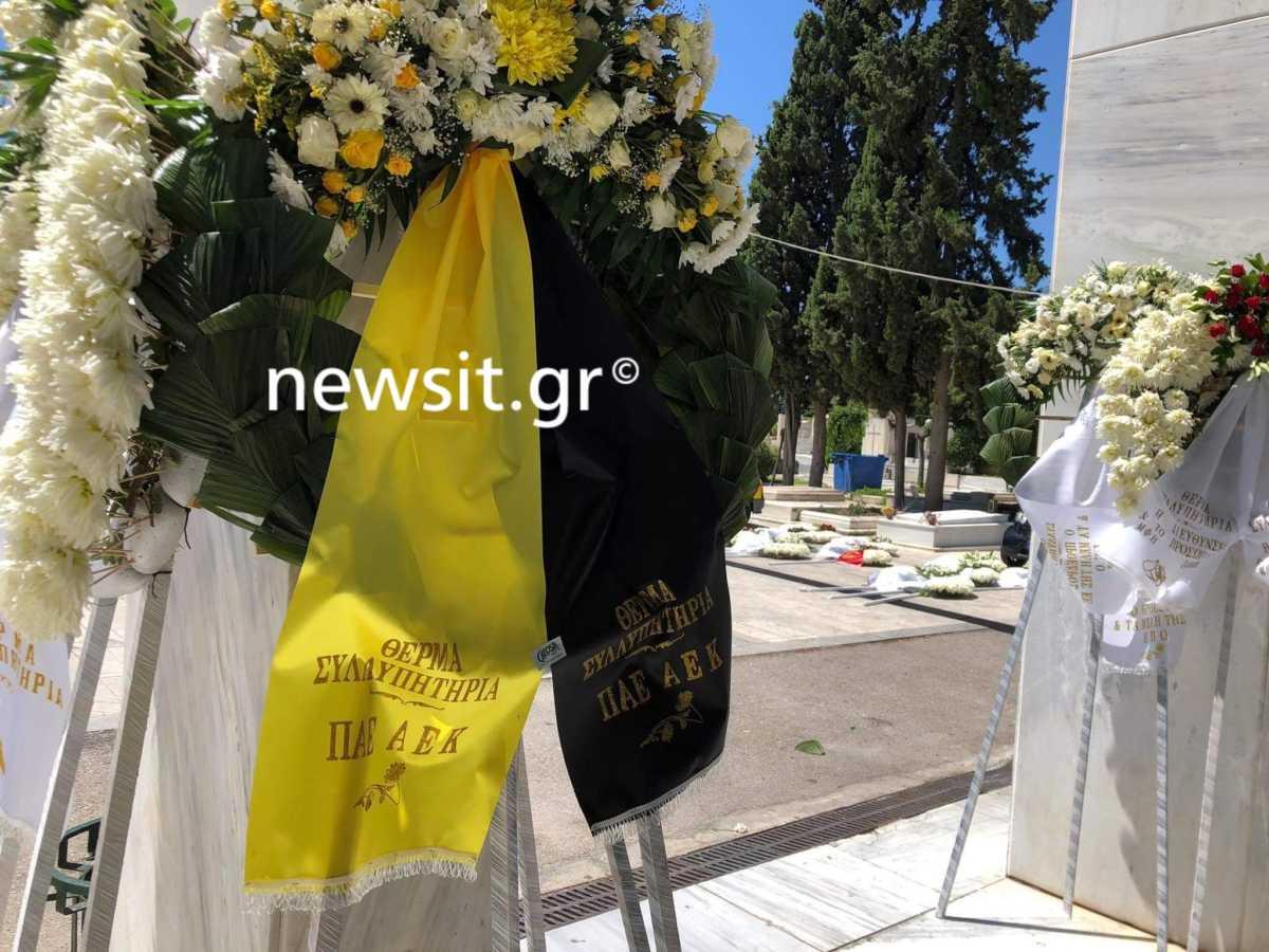"""Νίκος Αλέφαντος: """"Αθάνατος"""" και χειροκροτήματα στην κηδεία του"""