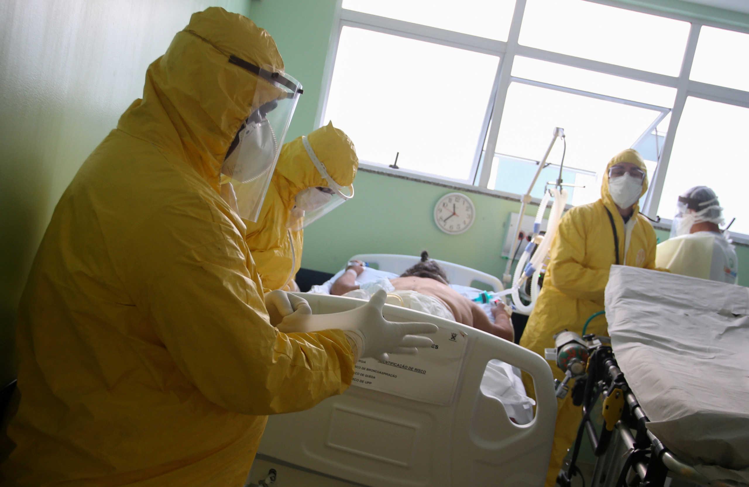 Κορονοϊός: Στους 617 οι νέοι θάνατοι στο Μεξικό, 201 στην Βραζιλία το τελευταίο 24ωρο