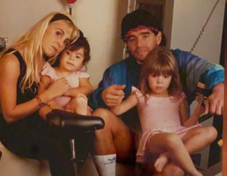 Ντιέγκο Μαραντόνα: Η ανάρτηση της κόρης του (pic)