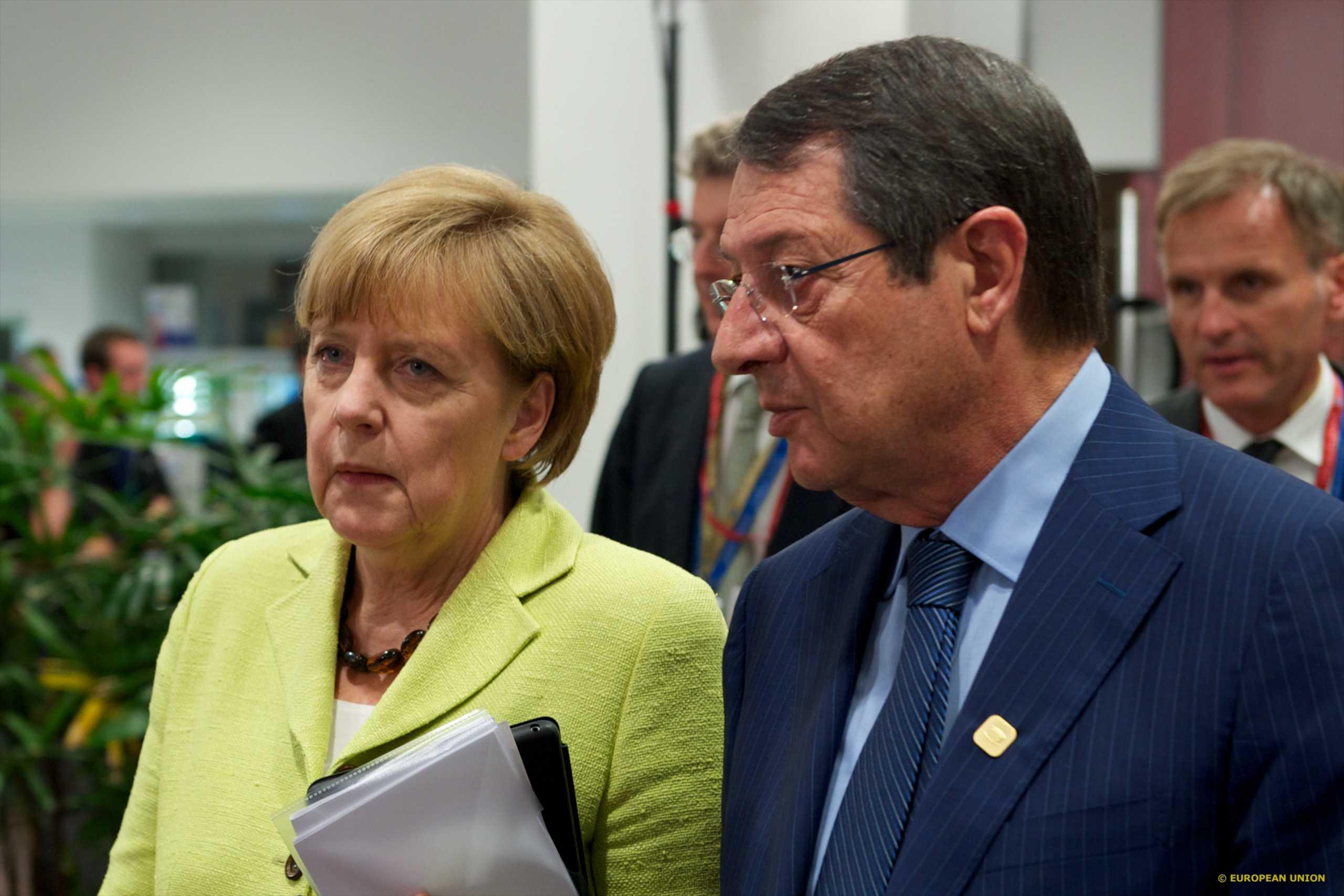 Αναστασιάδης: Ζήτησα από τη Μέρκελ να μεσολαβήσει για να σταματήσουν οι τουρκικές προκλήσεις