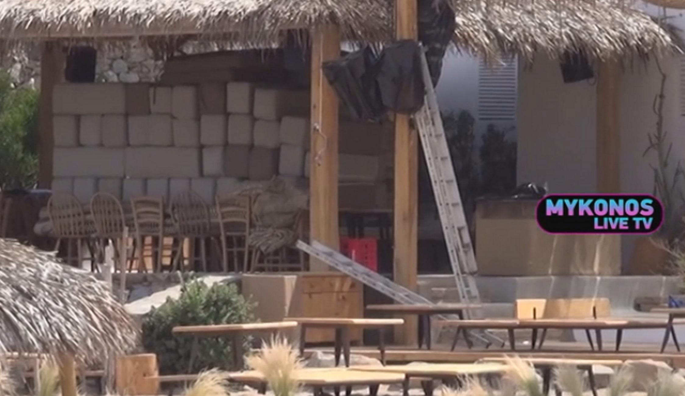 Μύκονος: Οι εικόνες μετά το λουκέτο σε πασίγνωστο beach bar λόγω συνωστισμού! Τα μάζεψαν οι ιδιοκτήτες (Βίντεο)